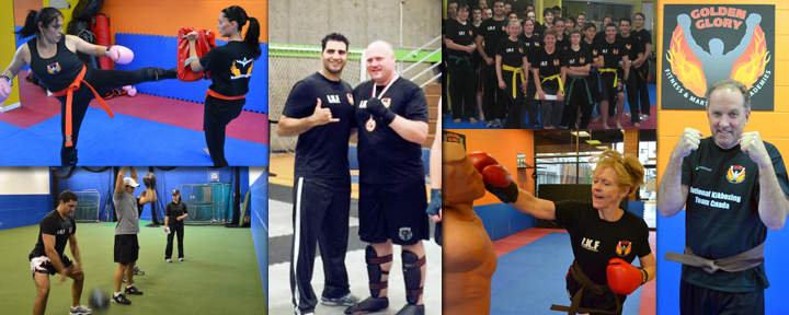 Adult kickboxing and martial arts classes in Surrey