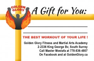 Gift card for Martial Arts in South Surrey / White Rock