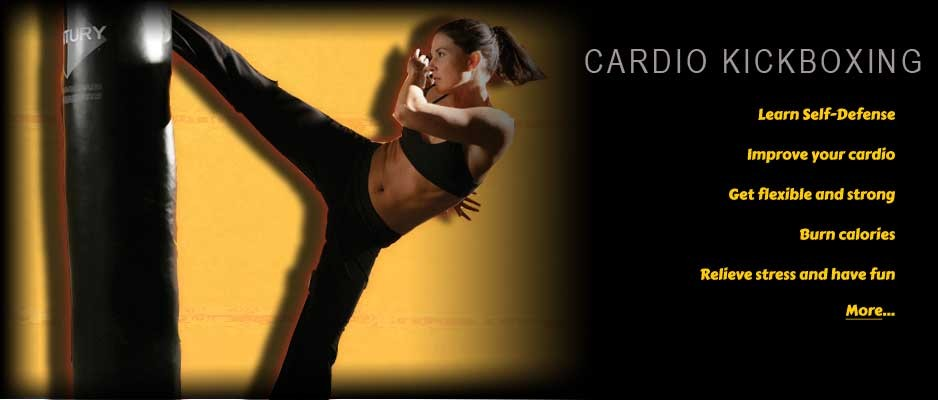 Cardio kickboxing in White Rock and Surrey