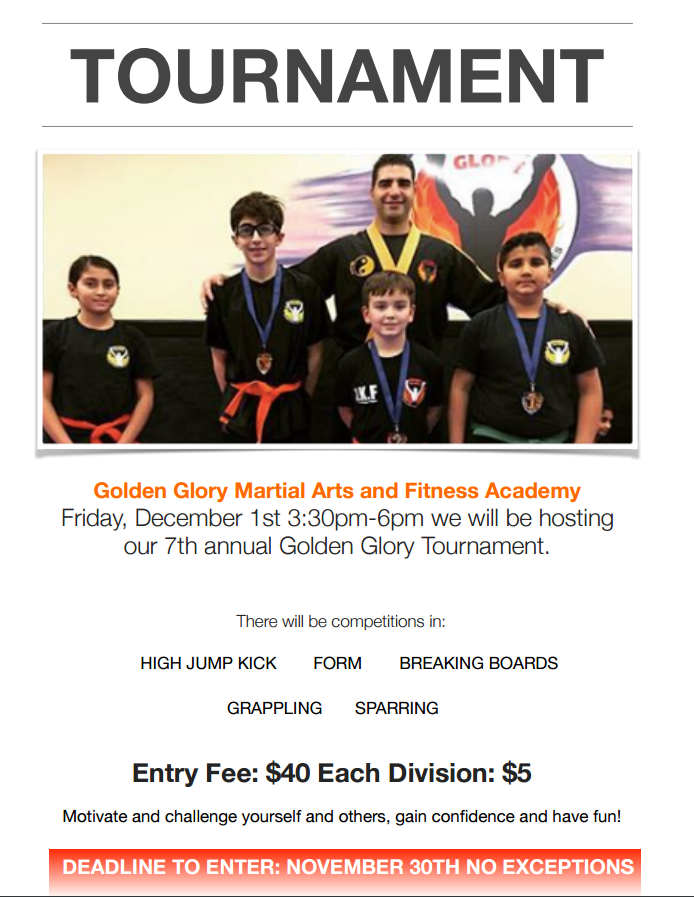Martial arts/Kickboxing tournament in South Surrey
