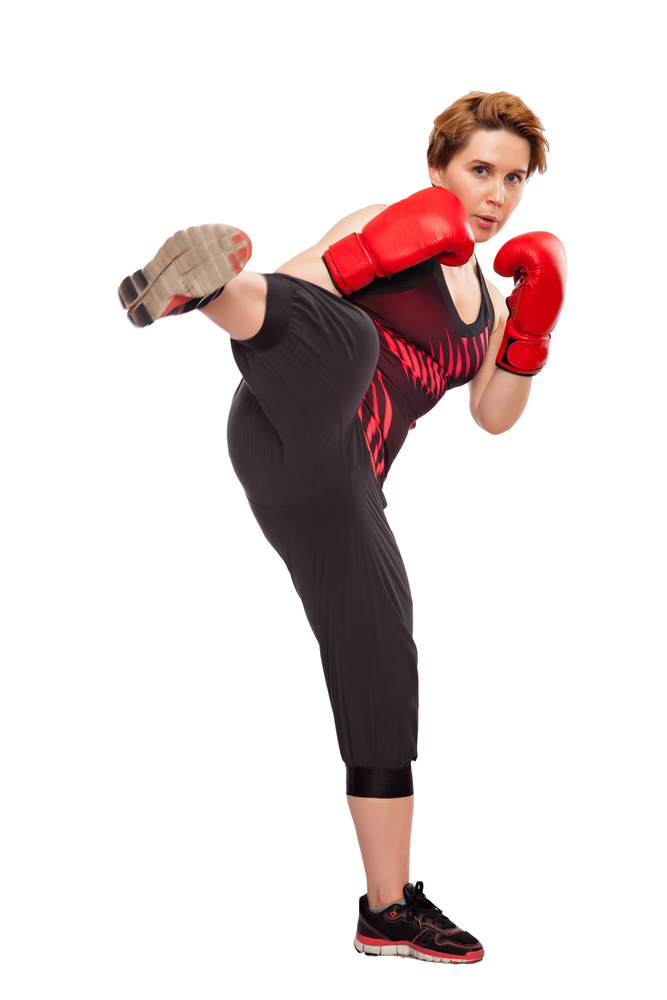 Kickboxing for girls / Gere a